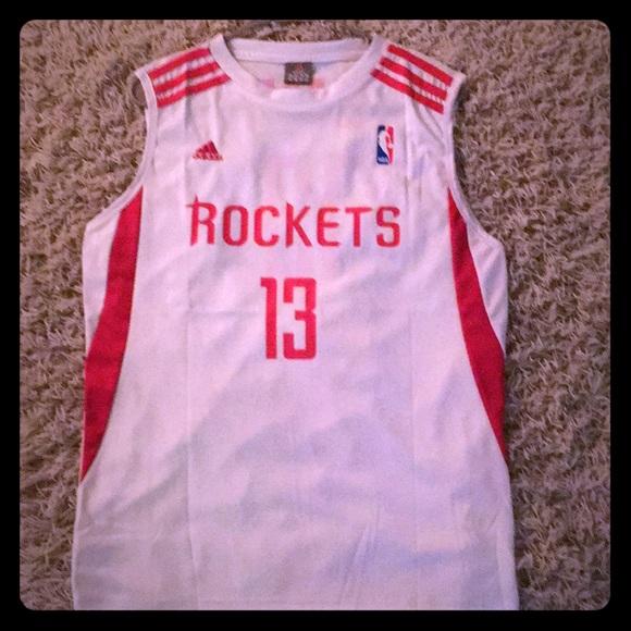6434b7130 adidas Other - James Harden Houston Rockets NBA Fan Shirt  13